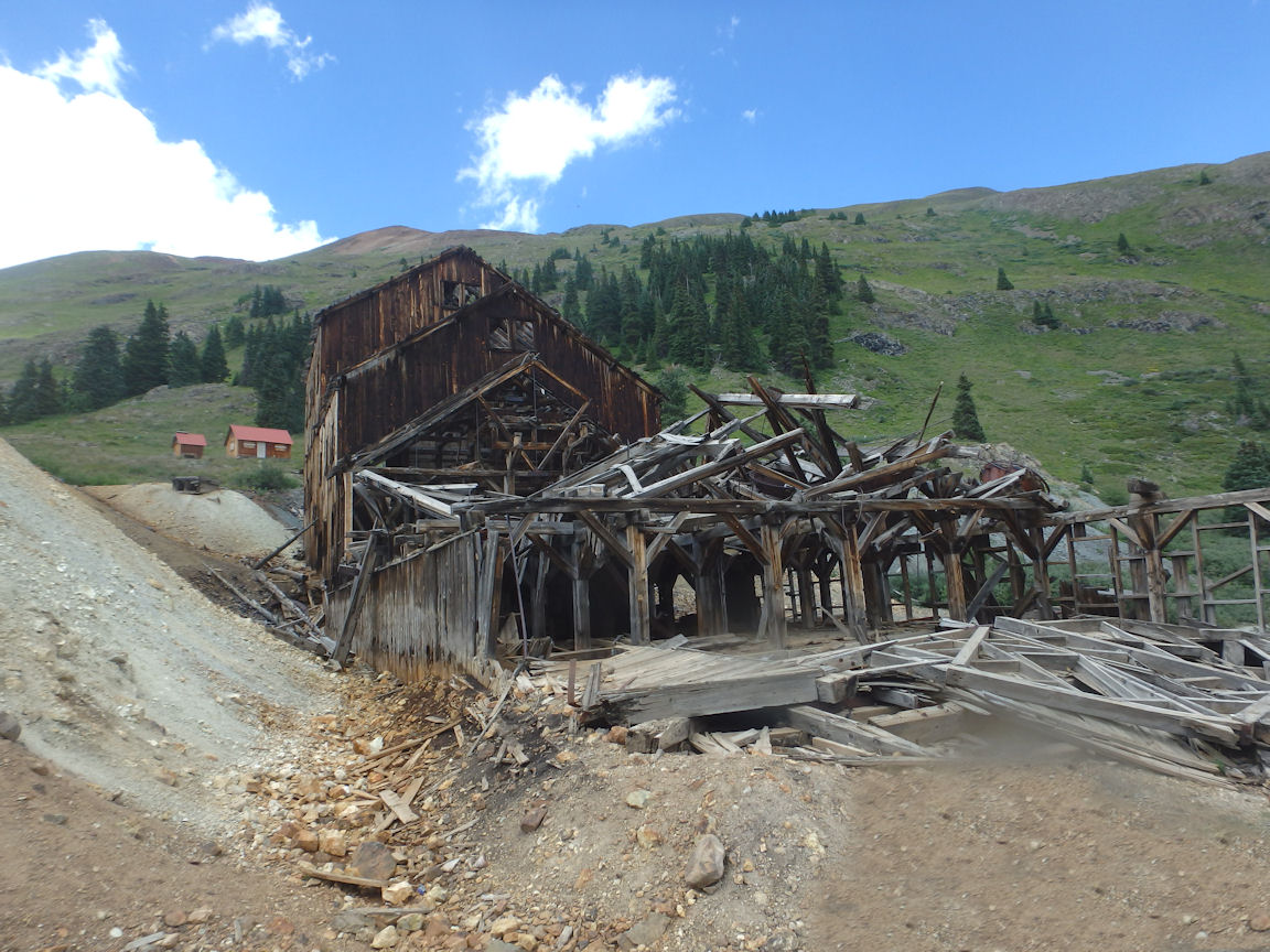 Old silver mine.