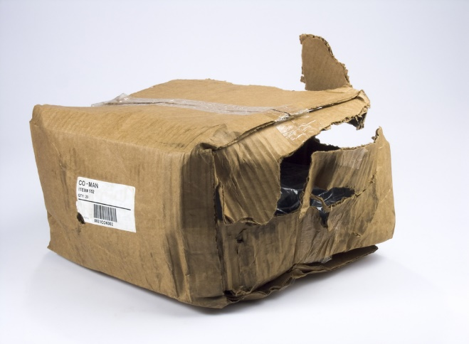 Damaged Delivery Package