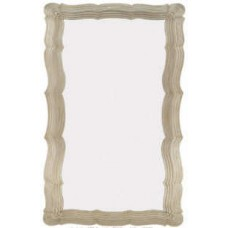 Intricate Silver Frame Mirror