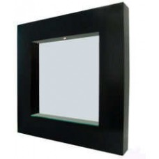 Square Wenge Mirror