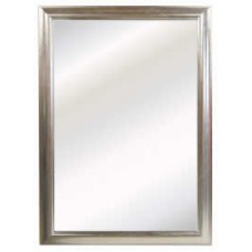 Silver Criss Cross Mirror