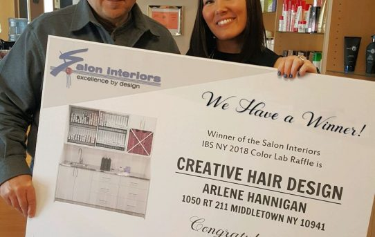 Arlene Hannigan, winner of the 2018 Color Lab Cabinet Contest
