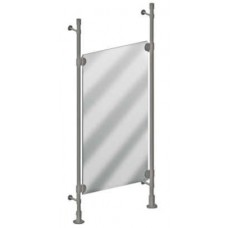 Double Pole Mirror Styling Station