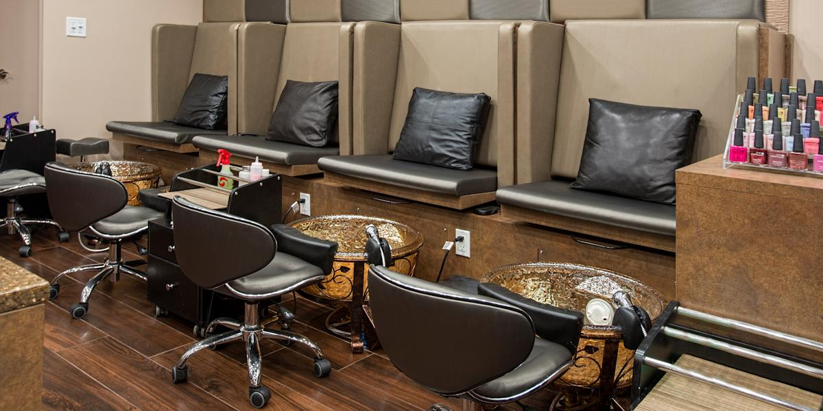 Salon Interiors Pedicure Furniture and Equipment Catalog