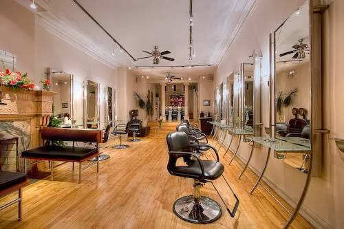 Marie Bove Salon Waiting And Styling Areas By Salon Interiors