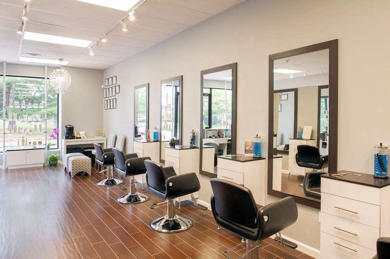 Perfect LB Beauty Custom Styling Stations By Salon Interiors