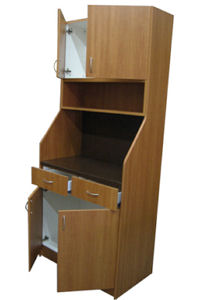 36C Dispensary Cabinet, Open View