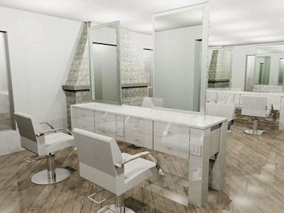 Salon Design - Space Planning - Consultation | Salon Interiors Inc.