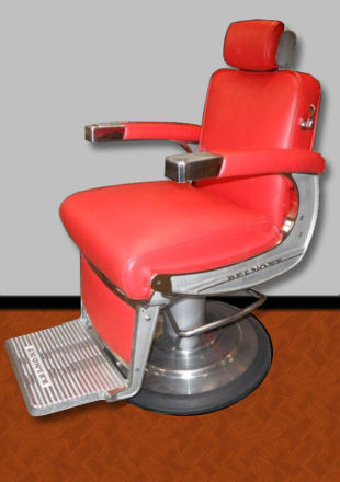 Belmont Barber Chair   After Refinishing